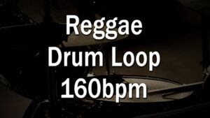 Reggae Drum Loop 160bpm